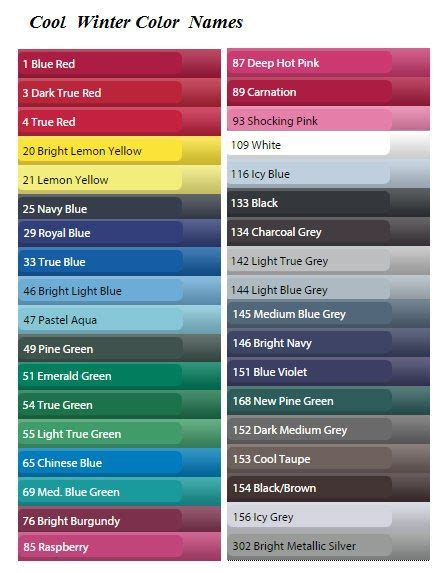 pretty color names 642 best images about seasonal colour analysis on