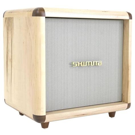 shimna stacks cabinet inspired by a vintage guitar in