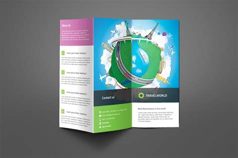information brochure template 20 tri fold information brochure templates