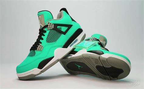 Sepatu Air 4 Green Glow would you rather had this air 4 quot green glow quot release sbd