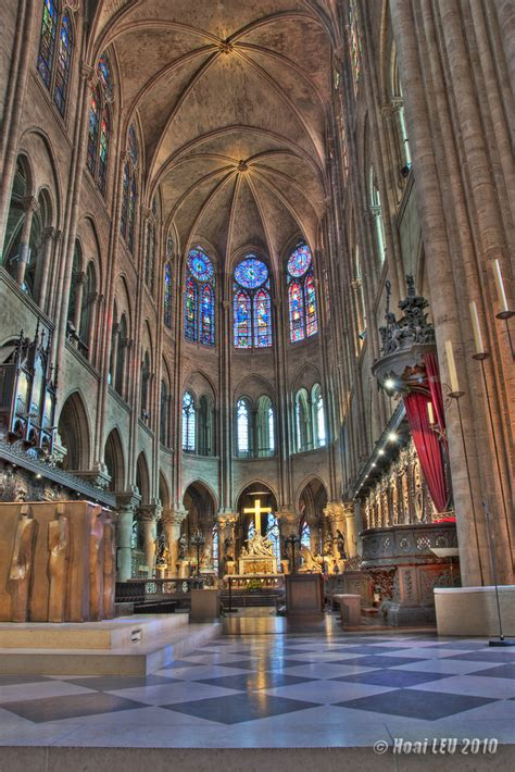 Notre Dame Cathedral Interior by Notre Dame De Interior By Leudanghoai On Deviantart