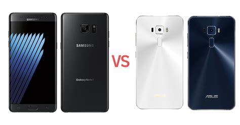 Samsung Zenfone 7 specs battle samsung galaxy note 7 vs asus zenfone 3 gadget pilipinas