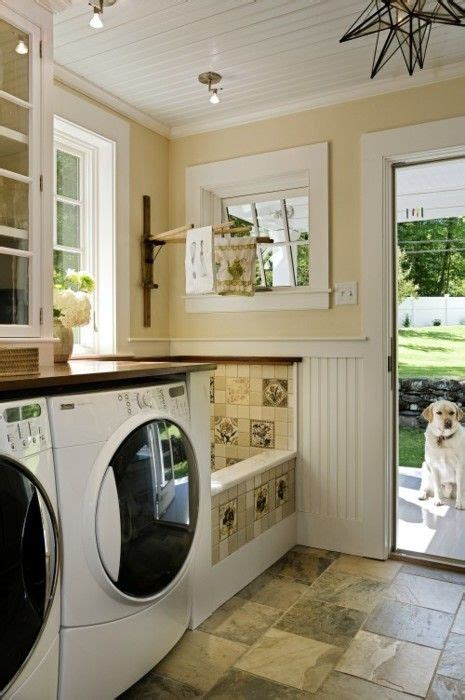 dog bathtubs for home use loving the built in dog bath dream home pinterest