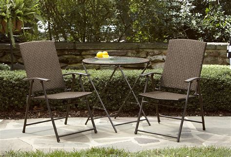 Oasis Outdoor Patio Furniture with Garden Oasis Wicker Folding Chair Light Option Limited Availability Outdoor Living Patio