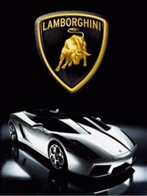cartoon lamborghini logo car company gif find share on giphy