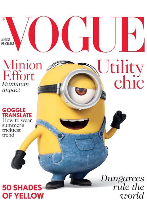 imagenes de revistas virtuales los minions de la moda grazia