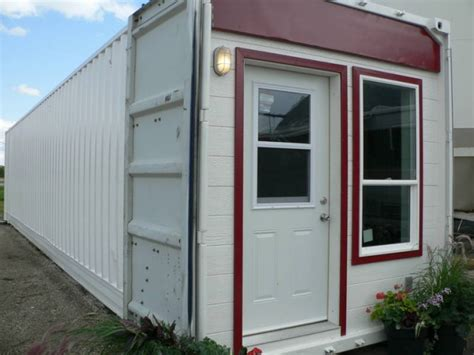 fishing cabin renovated 48 shipping container in