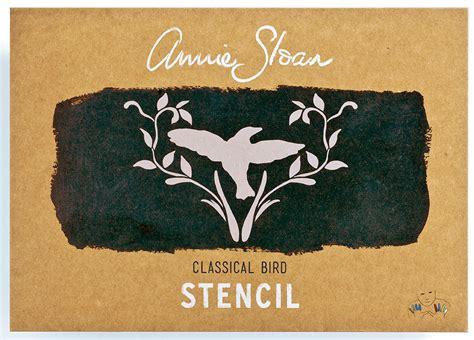 chalk paint stencils sloan stencil classical bird marilyn