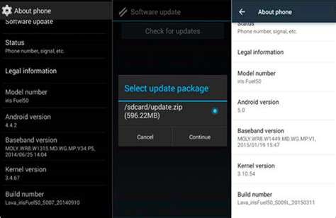 update android version 3 methods to update android system version