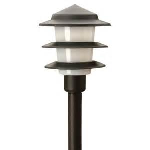low voltage led outdoor lighting moonrays low voltage 1 watt black outdoor led 3 tier path