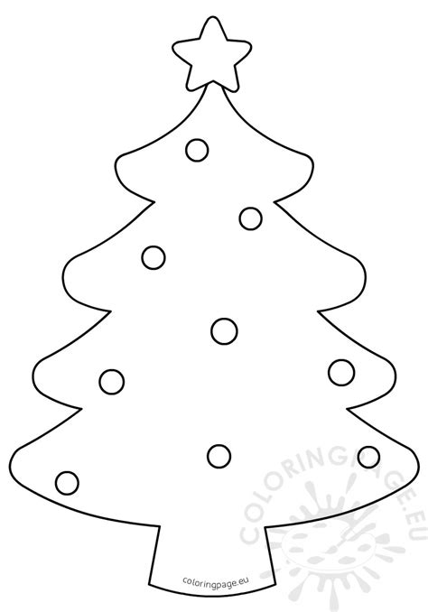 blank coloring pages for christmas blank christmas tree coloring page for kids coloring page