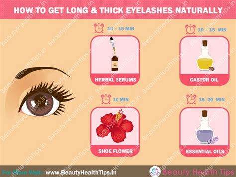 home remedies to get thick eyelashes naturally