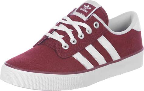 adidas kiel shoes maroon white