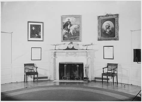where in the white house is the oval office file photograph of fireplace and furniture in president truman s oval office at the white house