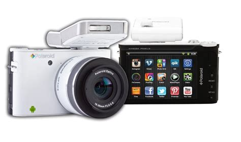 Kamera Polaroid Samsung android tabanl箟 aynas箟z kamera polaroid im1836