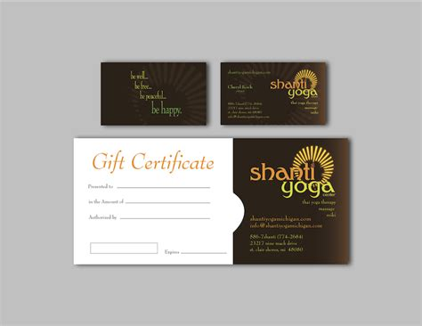 Gift Cards Business - graphic design portfolio art design studio of janna geary