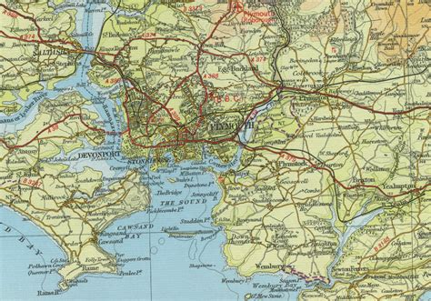 map of plymouth and surrounding areas plymouth maps and on