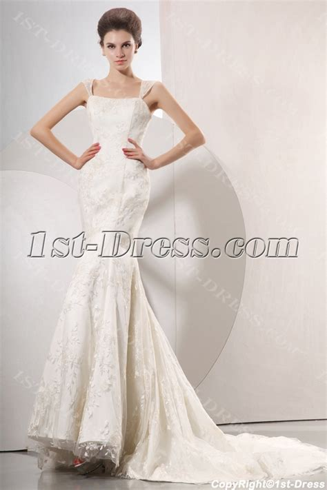 elegant cap sleeves mermaid style wedding gowns 1st