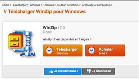 winzip gratuit 12 telecharger la version complete mac