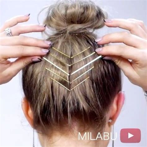 Bobby Pin Hairstyles For Hair by Best 25 Bobby Pin Hairstyles Ideas On Hair