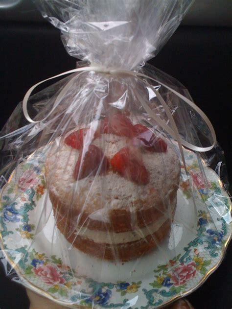mini cake  cellophane wrap mini cakes