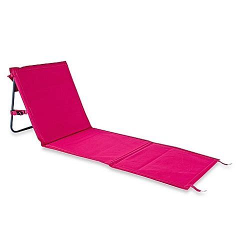 pink chair mat buy folding chair mat in pink from bed bath beyond