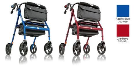 hugo walker transport chair hugo 174 navigator side folding rolling walker transport