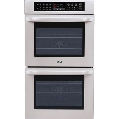 lg 30 wall oven lwd3081 house appliances home kitchen for lg double built in wall oven with crisp convection and