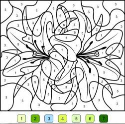 complex color by number printables coloriage magique ce1 gratuit az coloriage
