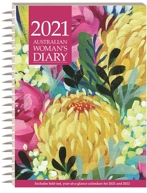 australian womans diary  diaries stationery