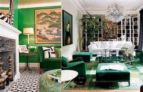 Emerald Green Interiors by Design Crush Emerald Interiors A Vintage Splendor