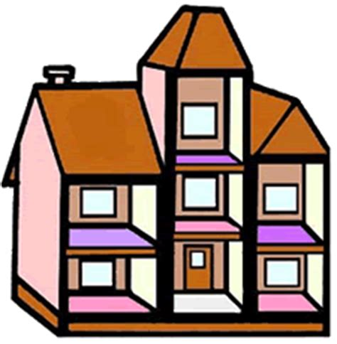 Doll House Clipart version of dollhouse clipart