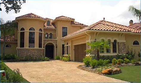 spanish hacienda house plans spanish style house exterior spanish style house plans