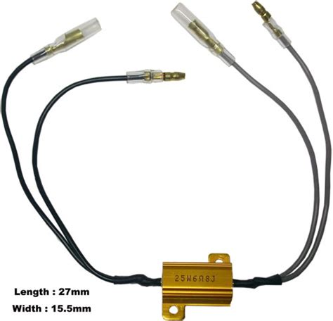 what resistor to use with led indicators led indicator resistor universal motorcycle products uk