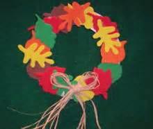 craft ideas leaf wreath fall decoration from craft foam