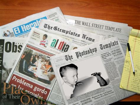 photoshop newspaper template newspaper template by wildsway18 on deviantart