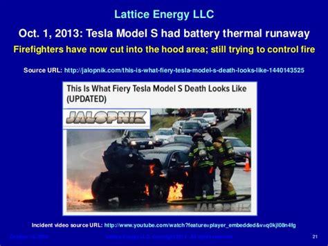 Tesla Model S Cooling System Lattice Energy Llc Technical Discussion Oct 1 Tesla