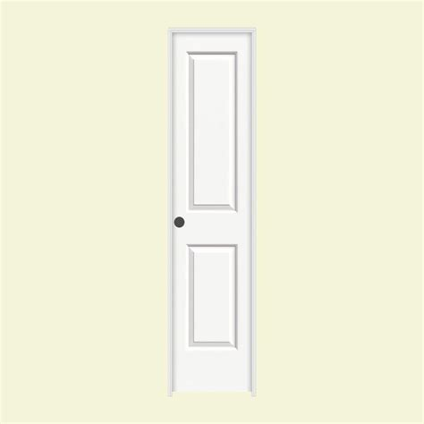 Jeld Wen Prehung Interior Doors by Jeld Wen 18 In X 80 In Molded Smooth 2 Panel Square