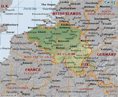 germany and belgium map info and belgium border map travel