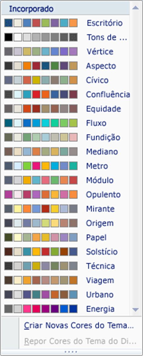 Bandung In Pantone Color Pt Two criar o seu pr 243 prio tema no powerpoint powerpoint