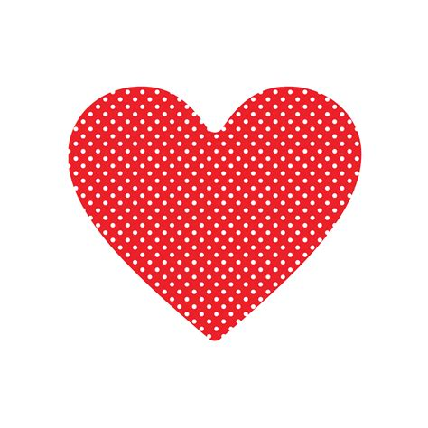 dot pattern heart valentine s day patterned heart printables