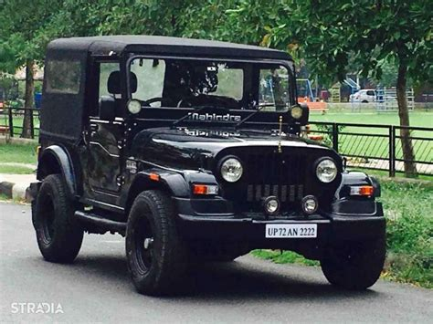 mahindra thar crde 4x4 ac modified mahindra thar black www pixshark com images galleries
