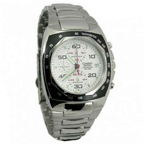 casio edifice chronograph mens  ef   ebay