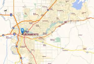 sacramento california map