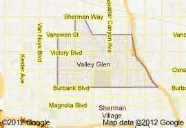glen california map foothill fence company serves valley glen ca