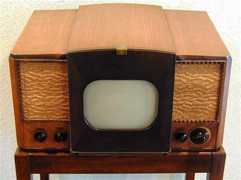 Old Cabinet Radio Rca 630ts Television 1946