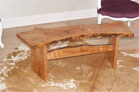 slab wood bench slab bench modern indoor benches jacksonville by