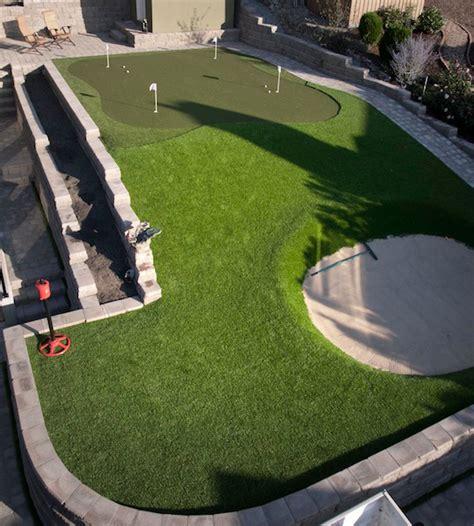 backyard putting green turf synthetic turf international