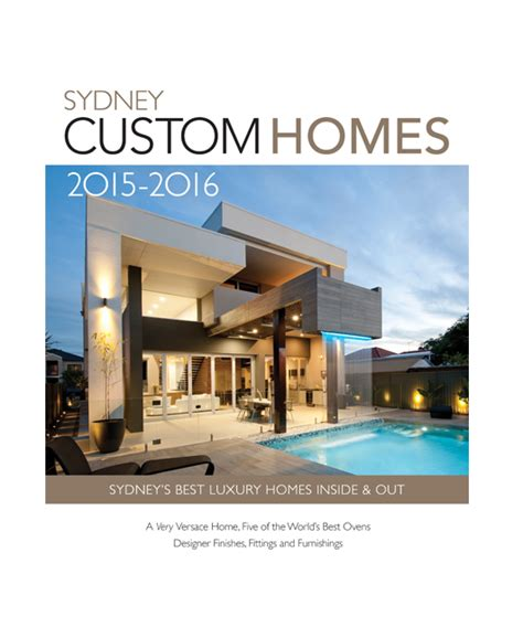 custom home online sydney custom homes annual yearbook 2015 16 buy online