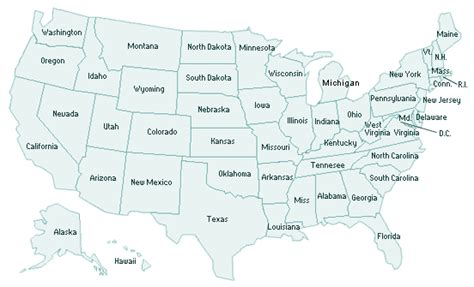how many towns are in the us geography blog us maps with states